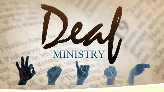 deaf-ministry